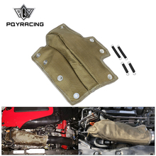 PQY Manta de tubo de entrada de Lava, protector térmico de turbocompresor, Enfriador de admisión de alta temperatura, resistencia térmica para Honda Civic 1,5 T PQY TBF06
