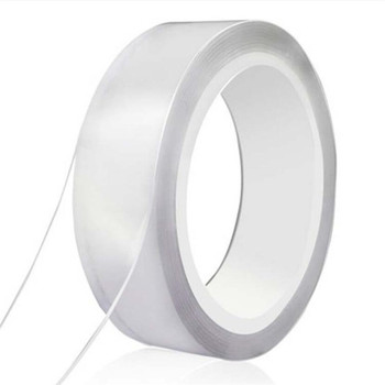 1M/2M/3M/5M Nano magic Tape Double Sided Tape Transparent NoTrace Reusable Waterproof Adhesive Tape Cleanable Home gekkotape 7