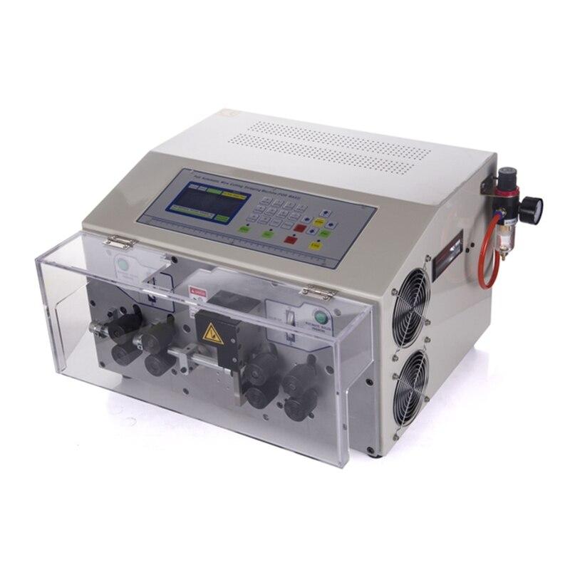 SWT508MAX 8 räder automatische abisolieren schälmaschine draht schneiden crimpen 800W