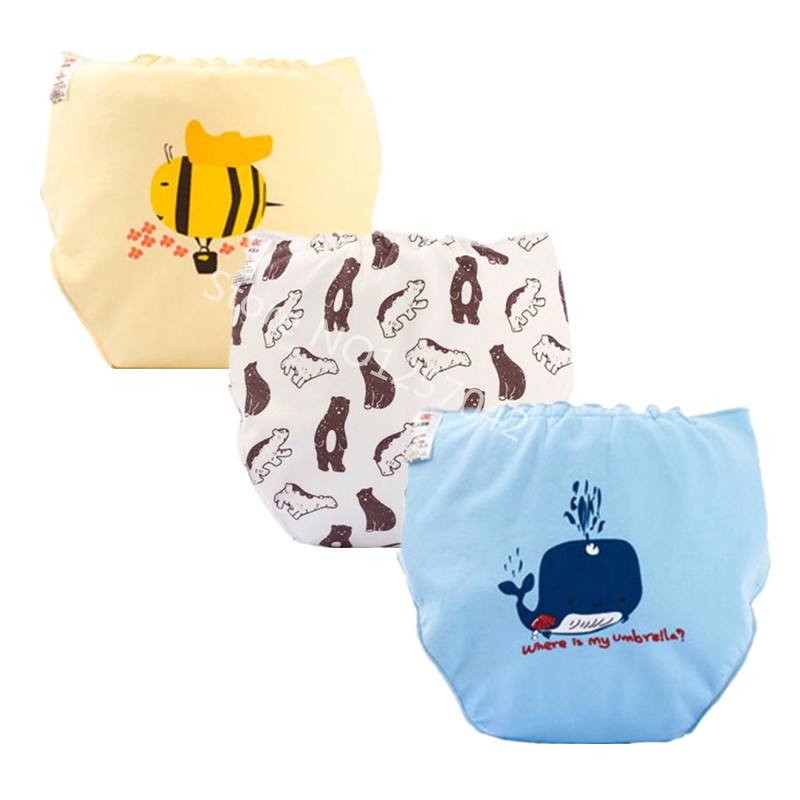 Baby Cloth Diapers Reusable Nappies Washable Cloth  Diaper Pocket Nappy Baby Training Pants Waterproof Changing Drop-Shipping