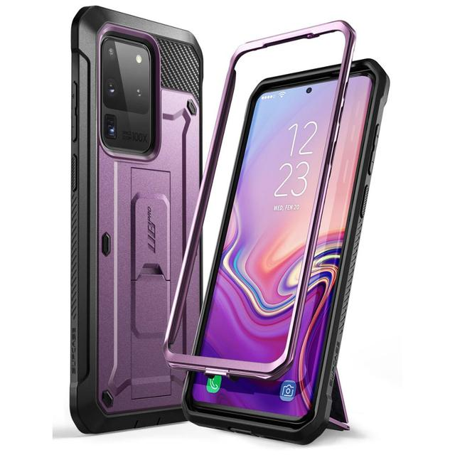 For Samsung Galaxy S20 Ultra Case / S20 Ultra 5G Case SUPCASE UB Pro Full Body Holster Cover WITHOUT Built in Screen Protector
