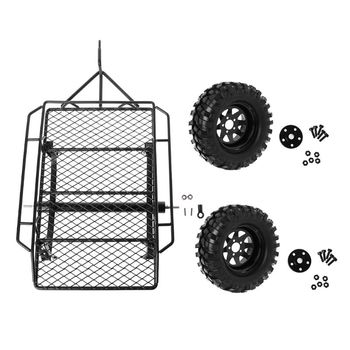 Metal RC Trailer Hopper Frame Simulation for 1/10 Rock Crawler Truck Trail TRX-4 TRX4 Axial SCX10 RC4WD D90 CC01 Car Spare Parts