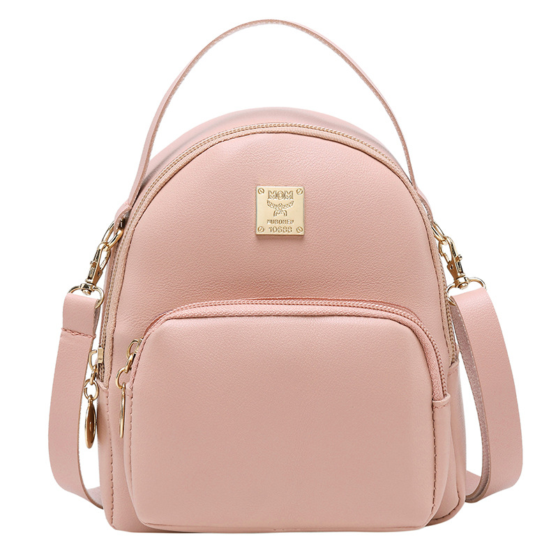Casual Mini Shoulder Bag Female New Female Korean Version Of The Wild Shoulder Backpack Shoulder  Bag Girl Mini Backpack