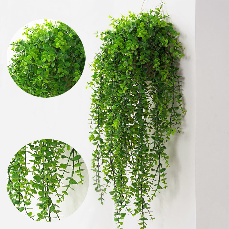 Artificial Plants Vines Wall Hanging Simulation Rattan Leaves Branches Green Plant Ivy Leaf Home Wedding Decoration Plant-Fall