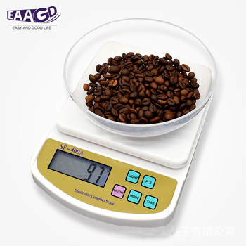 Digital Scale For Household Use Electronic Kitchen Scale Weighing Scale With Backlight g ,kg,lb,oz/ g,oz, ct, tl