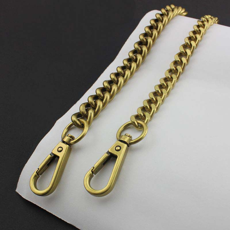 13mm 10mm NEW Fashion Rainbow Aluminum Iron Chain Bags Purses Strap Accessory Factory Quality Plating Cover Wholesale