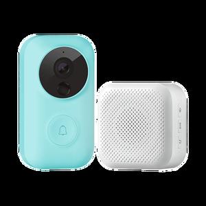 Image 5 - Xiaomi MIJIA חכם פעמון חזותי + מקורה מקלט קול גופנים 1080p 120 ° זווית אינפרא אדום ראיית לילה Xiomi לעבוד עם MIJIA APP