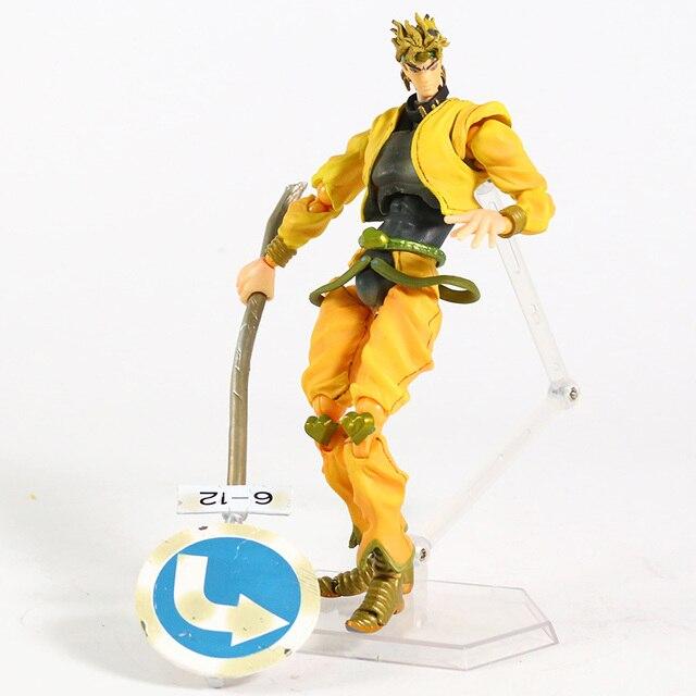 JoJos Bizarre Adventure Stardust Crusaders DIO PVC Action Figure Collectible Model Toy 5