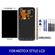 Original For Motolora Moto X Style XT1575 XT1572 Lcd Display With Frame Touch Screen Panel Digitizer Assembly Replacement Parts