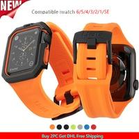 Correa deportiva para Apple IWatch Series 6 SE, 44mm, 40mm, pulsera para Apple Watch 6 5 4 3 42mm 38mm