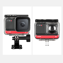For Insta360 ONE R Dive Case 360 Edition Waterproof Box