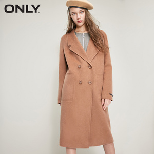 Image 1 - ONLY 2018 Womens Winter Long Double faced Woolen Coat