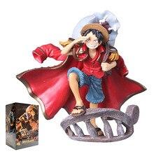 Luffi-Figura de acción de One Piece, edición espectacular de Luffy, modelo de colección de figuras de acción de Luffi