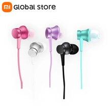 Xiaomi-auriculares Mi Piston 3, auriculares internos con micrófono y Control por cable, auriculares para teléfono móvil