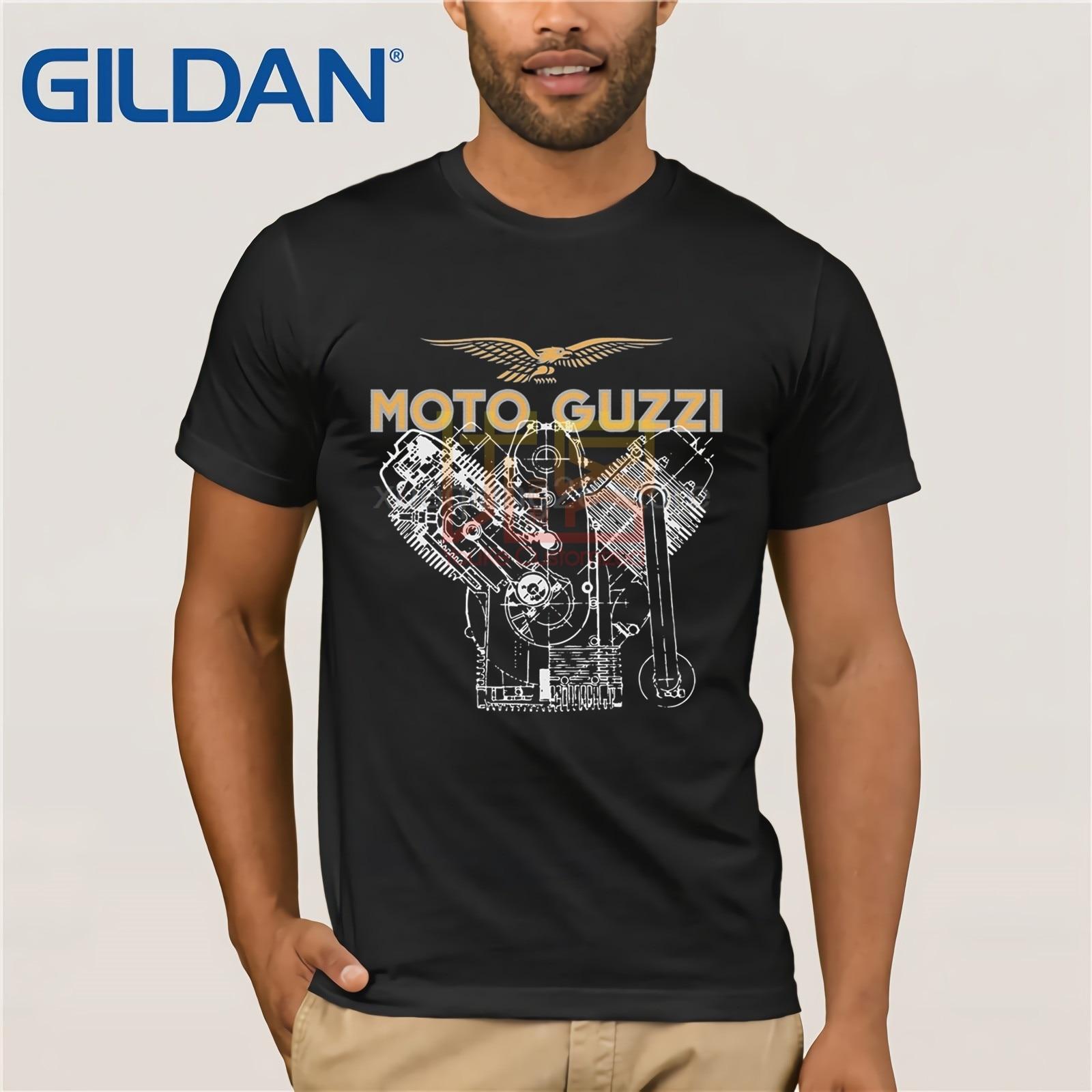 Moto Guzzi V7 Engine T Shirt
