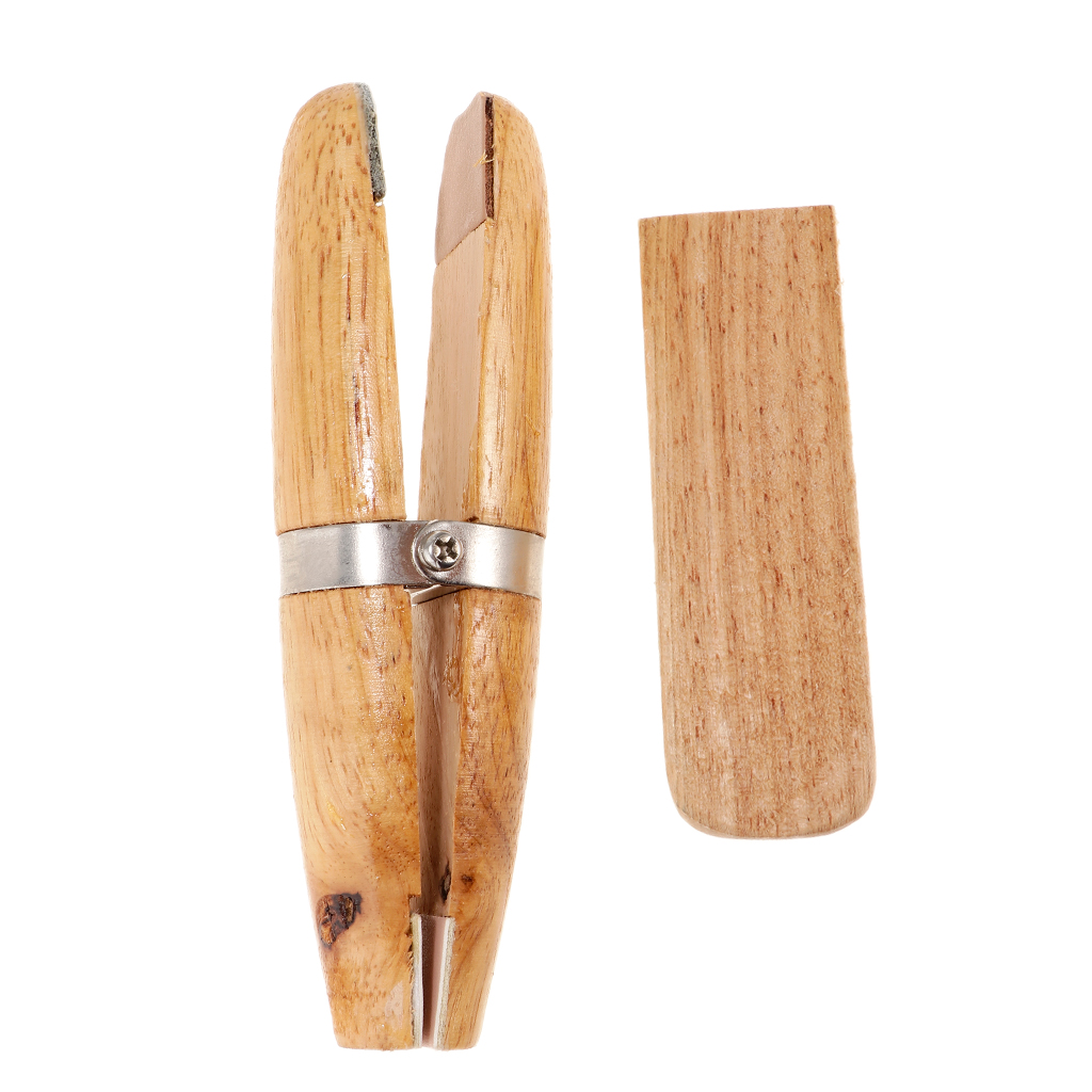 Wooden Ring Clamp Holder For Stone Setting Jewelery Making Tool Benchwork