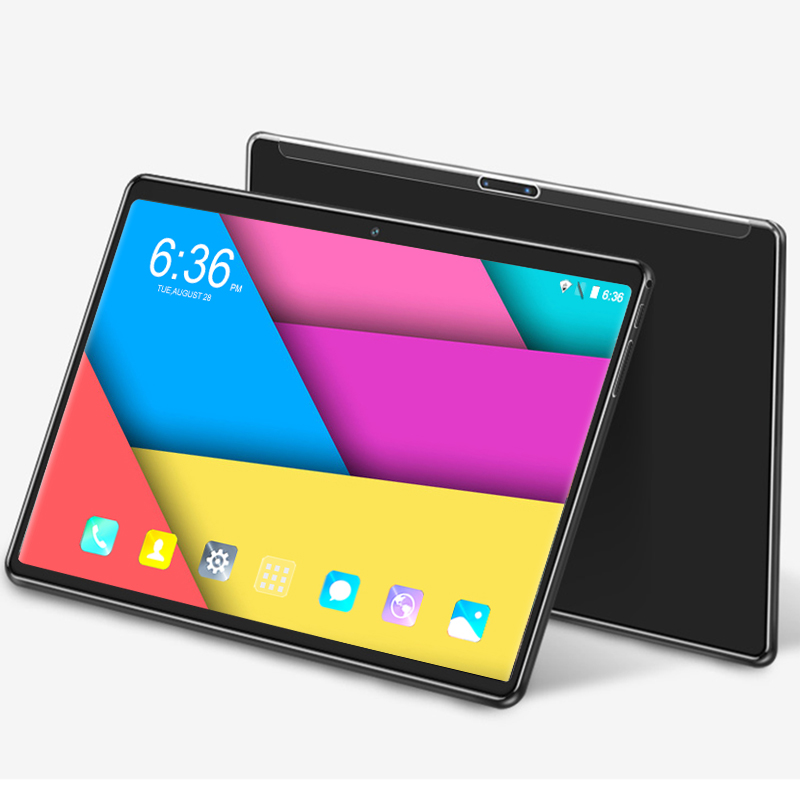 4G LTE Phablet 10.1 Inch Tablet Pc Android 8.0 Octa Core RAM 6GB ROM 64GB Dual SIM Card 1280*800 IPS Curved Screen Tablets 8 10