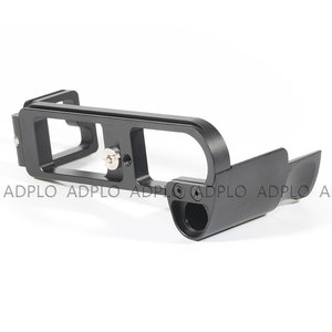 Image 4 - ADPLO LB M8 L Type Quick Release Plate Vertical L Bracket Hand Grip Specifically for Leica M8 / M9 camera