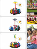 fitness swivel chair kids horse carousel spring rider park equipment YLW-SR20191153
