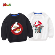 Kids sweatshirts hoodies funny children kids sweatshirt Halloween ghost costume toddler baby girl Cartoon tops fashion winter halloween cartoon ghost print sweatshirt