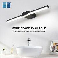 Lámpara de pared para baño, accesorios de iluminación para tocador, espejo moderno, luz Led de pared para interiores