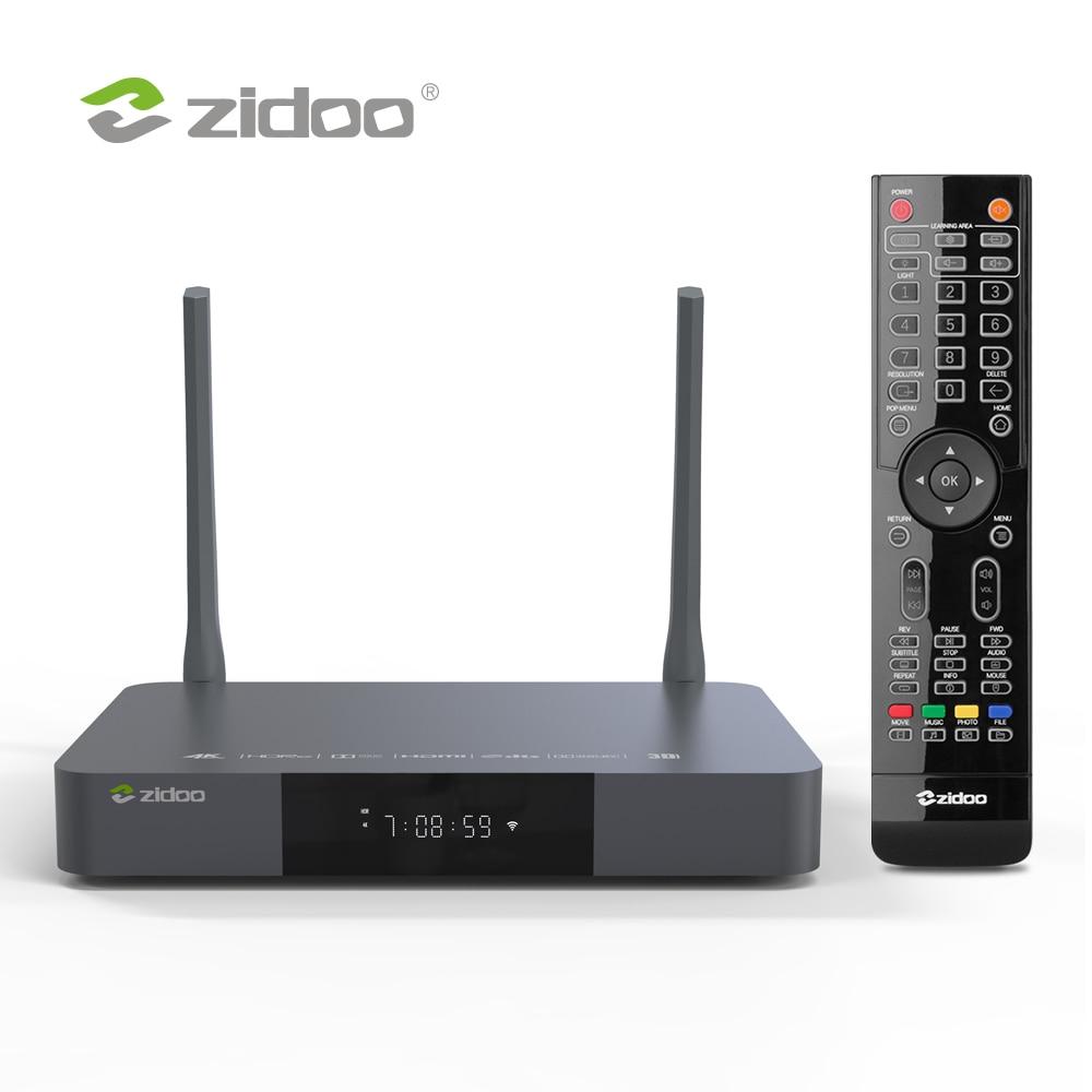 Zidoo Z9X медиаплеер 4K HDR10 + Android 9,0 Smart TV Box Dolby Vision 2G DDR4 16G eMMC телеприставка HDR 10 бит
