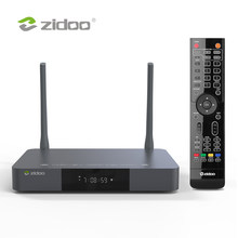 Zidoo z9x media player 4k hdr10 + android 9.0 smart tv caixa dolby visão 2g ddr4 16g emmc definir caixa superior hdr 10bit