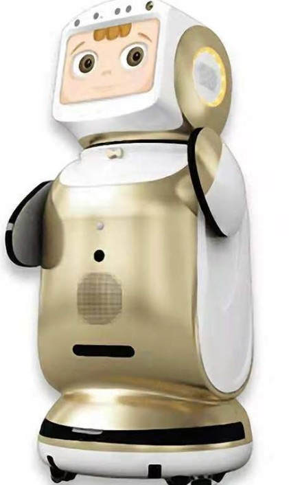 House or commercial use security alarming monitoring smart camera Robot 2