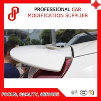 High quality ABS black red white color rear roof spoiler for MG3 2009 2010 2011 2012 2013 2014 2015 2016 2017 2018
