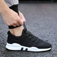 shoes men 2019 summer new casual breathable sports running students mesh cloth fashion