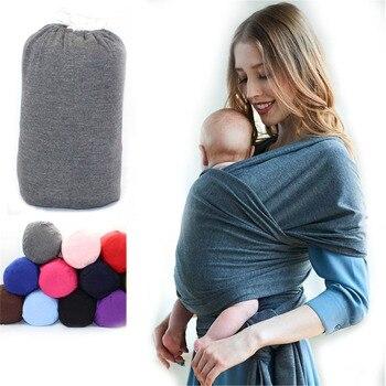 Baby sling wrap babyback carrier ergonomic infant strap porta wikkeldoek echarpe de portage accessories for 0-18 months gear