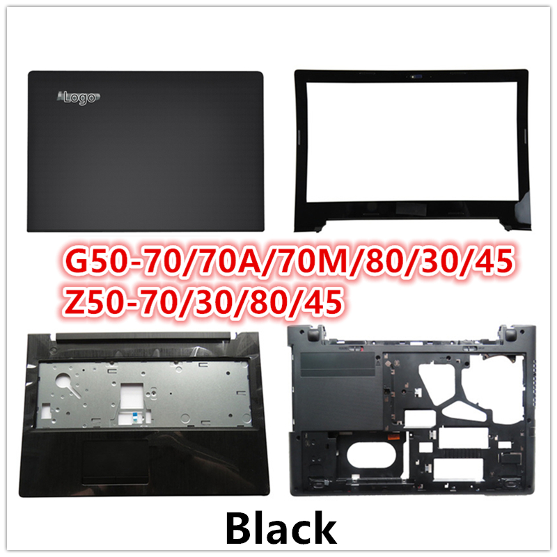 LCD Back Cover Top Case Laptop For Lenovo G50-70/70A/70M/80/30/45 Z50-70/30/80/45 LCD Front Bezel/Palmrest/Bottom Base CoverCase