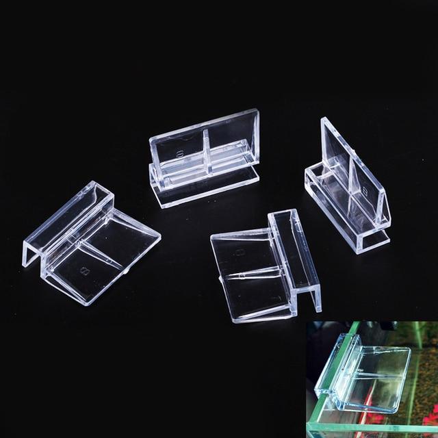 4 Stuks/Batch 6/8/10/12 Mm Vis Tank Cover Bracket Aquarium Acryl Clip Multi-Functie Glas Cover Ondersteuning Frame