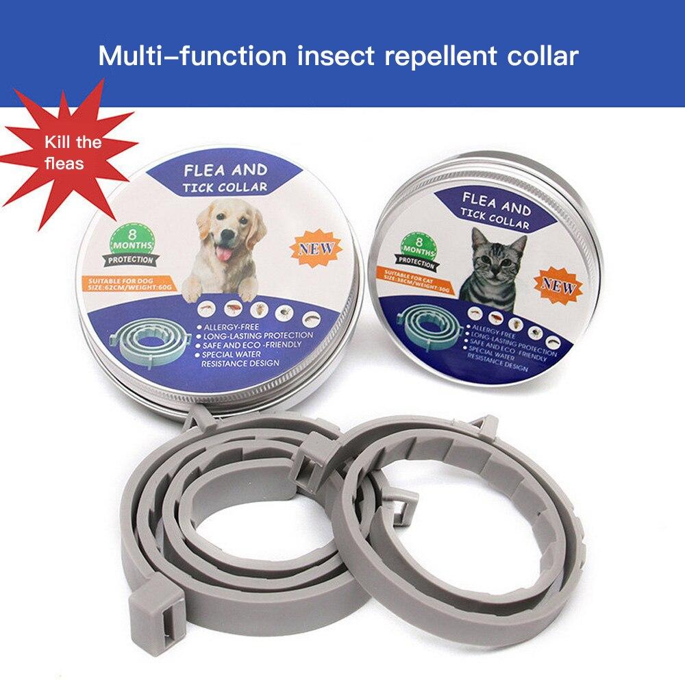 Adjustable Pet Deworming Collar Pet Dog Flea Collar Pet Dog Cat Anti Flea Tick Flea Collar Mosquito Insect Collar Pet Supplies 1