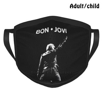Jon Fashion Print Funny Pm2.5 Reusable Face Mask Punk Metal Metalhead Headbanger Punx Hardcore Underground Hardrock Rosetatoo image