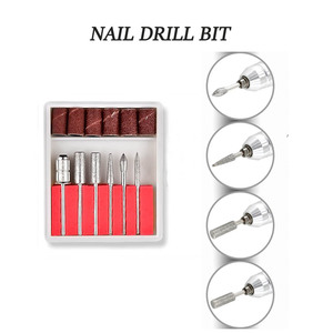 Image 5 - 35000/20000 RPM 20/12W Electric Nail Drill Manicure Machine Pedicure Nail Accessoires Tool Nail File Drill with 6 Nail Drill Bit
