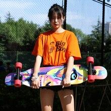 Скидка 32% MS400 Beginnner 107 см/42 дюйма Лонгборд 7 дюймов Алюминиевый Грузовик Abec-7 картон стальной подшипник длинная доска скейтборд