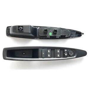 Image 3 - אינטליגנטי חלון מתג קדמי שמאל נהג בקרת מרים חשמלי כוח חלון בקר מראה לוח לחצן לסיטרואן C4