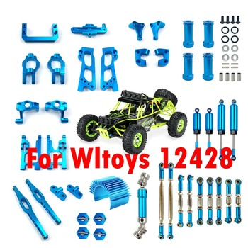 Wltoys 12428 Parts 12423 Upgrade Accessories feiyue fy03 Kit for FY03 WLtoy 1/12 RC Buggy Car