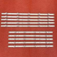 10 stücke led hintergrundbeleuchtung streifen für LG 50LB6000 50LB561V 50LB551V 50LB5610 50LB650V 50LB653V 50LF5800 50LB6300 50LB5800 LC500DUE FG