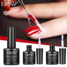 Elite99 Отшелушивающий защитный лак для ногтей, защищенный маникюр, легко Очищаемый, быстро очищающий кожу пальцев, жидкая лента, гелевый инструмент для ухода за ногтями, пинцет