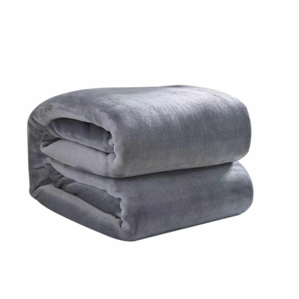 บ้านแฟชั่นผ้าขนสัตว์ผ้าห่ม Soft Living Room ห้องนอนเครื่องปรับอากาศผ้าห่มสำหรับโซฟาผ้าปูที่นอน 50x70cm