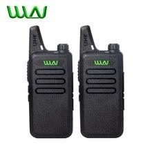 2 Pcs Rádio Em Dois Sentidos Handheld Kd C1 C1 Sem Fio Portátil Walkie Talkie Rádio Transceptor HF WLN Para Ham Radio comunicador A estação de rádio
