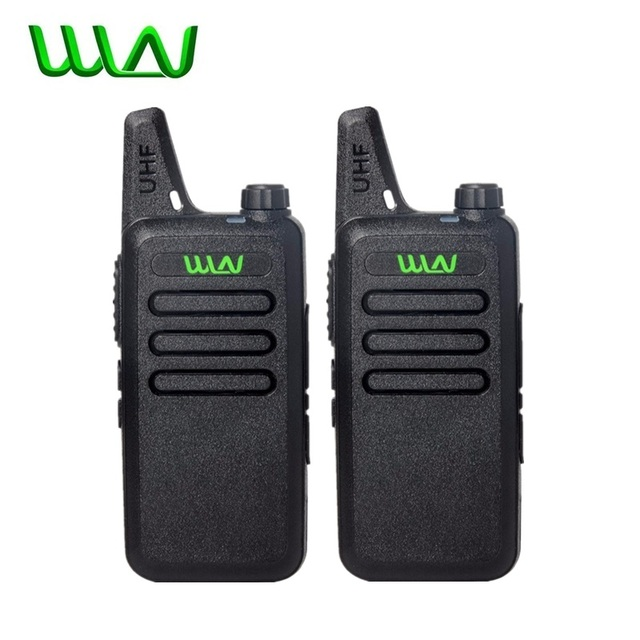 2Pcs Mini Two Way Radio Handheld Kd C1 Tragbare Walkie Talkie C1 Drahtlose Radio Transceiver HF WLN KD C2 Ham Radio comunicador