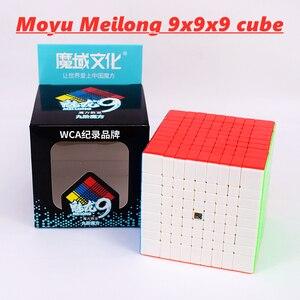 Image 1 - Meilong 9x9x9 Moyu cubo Mágico 6x6x6 7x7x7 8x8x8 velocidade cube 6x6 7x7 8x8 9x9 cubo magio puzzle MF8