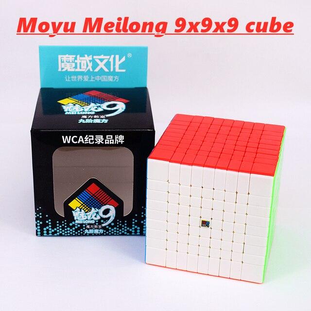 Meilong 9x9x9 Moyu cubo Mágico 6x6x6 7x7x7 8x8x8 velocidade cube 6x6 7x7 8x8 9x9 cubo magio puzzle MF8