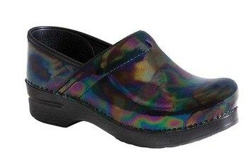 Кожаные тонкие туфли, женские профессиональные Сабо