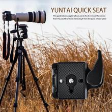 Camera Quick Release Adapter Portable Camera Tripod 323 Quick Release Plate Mount Clamp Adapter Stabilizer Camera Accessories super light quick release propeller thread self tightening prop mount adapter