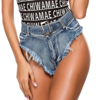 Womens Sexy Hole club Shorts Summer Low waist Denim Shorts Jeans Women Casual Shorts New Femme Push Up Skinny Slim Denim Shorts