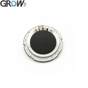 Image 1 - CRESCERE R502 DC3.3V Piccolo Circolare di Colore Rosso Blu LED MX1.0 6pin Capacitivo di Impronte Digitali di Controllo di Accesso Modulo Sensore di Scanner